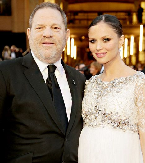 Georgina Chapman Welcomes Baby Boy With Harvey Weinstein