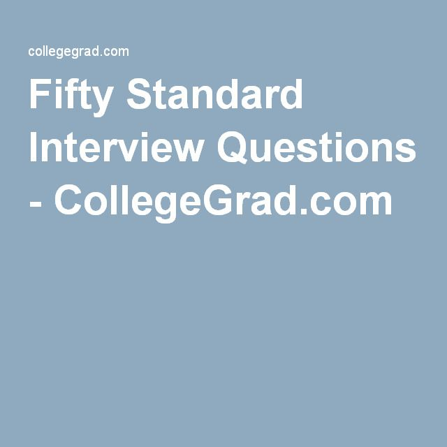 The 25+ best Standard interview questions ideas on Pinterest - interview question template