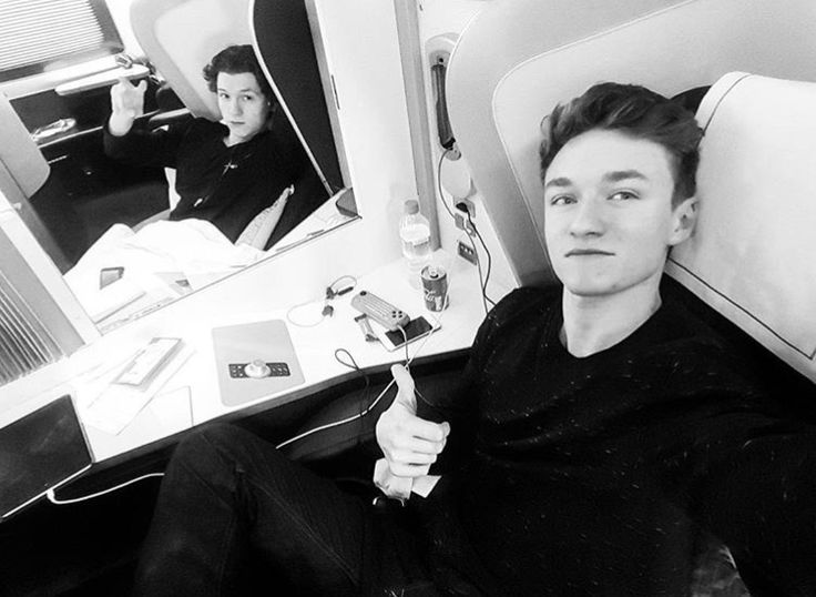 Image result for harrison osterfield and tom holland