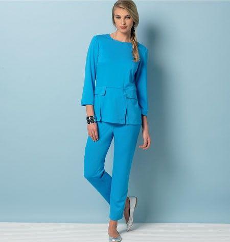 Vogue - 9092 top, jurk, broek