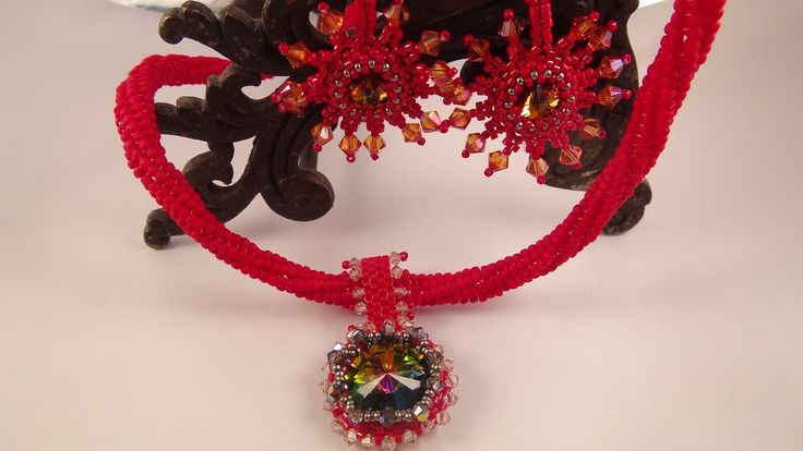 """Set """"Ode to The Sun"""" by AnnArt & Jewelry"""