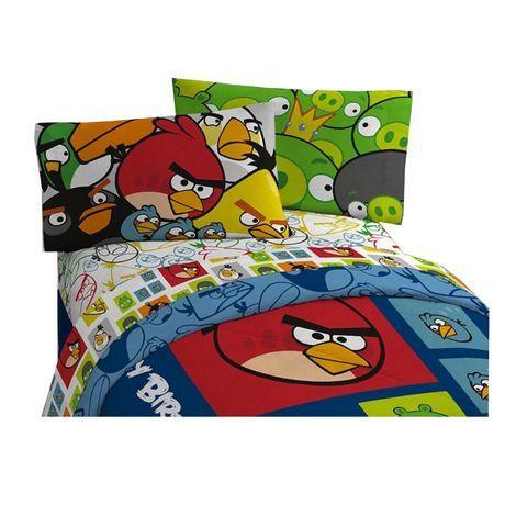Angry Birds Block Ensemble de draps pour un lit double au Walmart.ca. Magasinez en ligne et profitez de livraison gratuit! Aucun achat minimum requis et politique de retour simple.