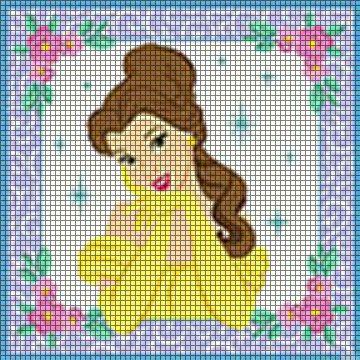 Disney Princess Belle Crochet Pattern