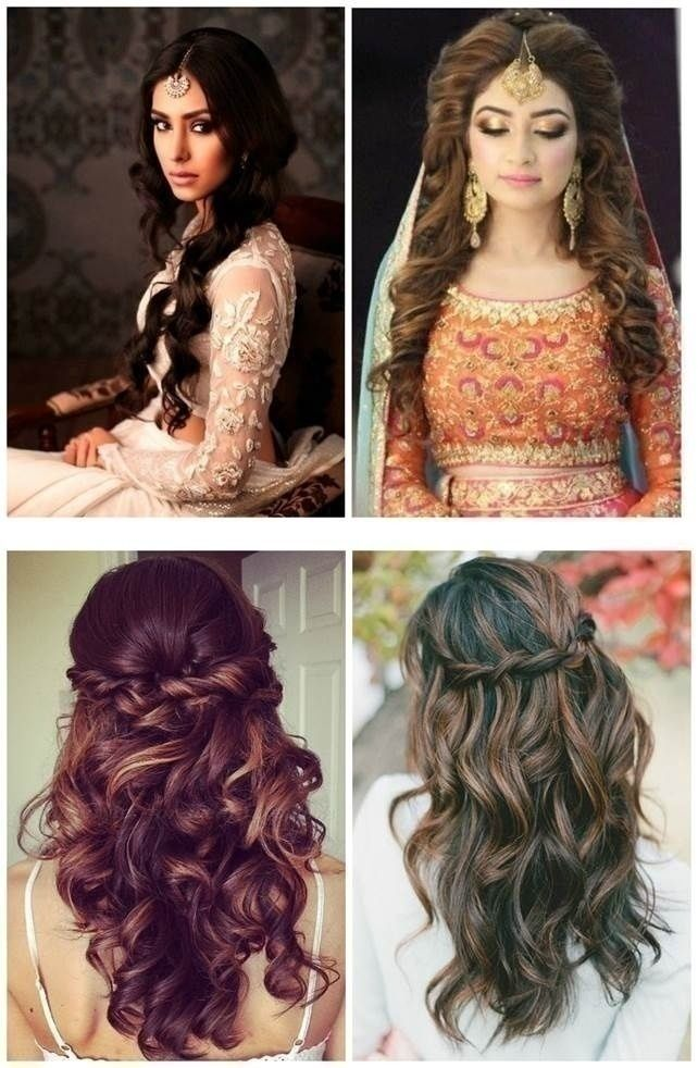 Top 5 Indian Bridal Hairstyles For Thin Hair Indian Hairstyles Hair Styles Indian Wedding Hairstyles