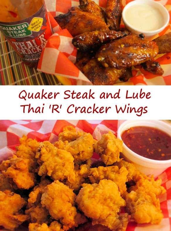 Quaker Steak and Lube Thai 'R' Cracker Chicken Wings