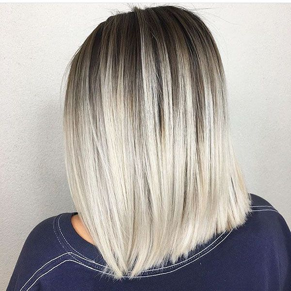 60 Short Straight Hairstyles This Year In 2020 Straight Blonde Hair Short Straight Hair Balayage Straight Hair