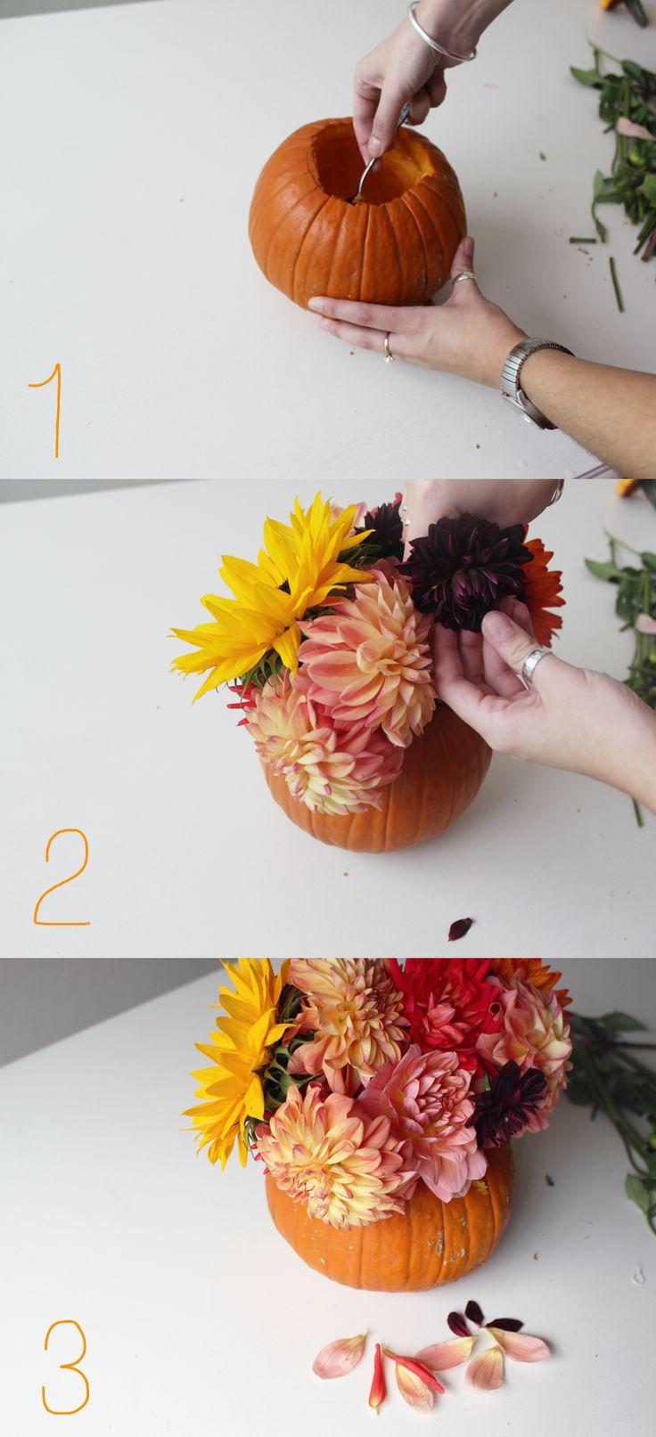 DIY Thanksgiving Center Piece — Cashmere and Plaid