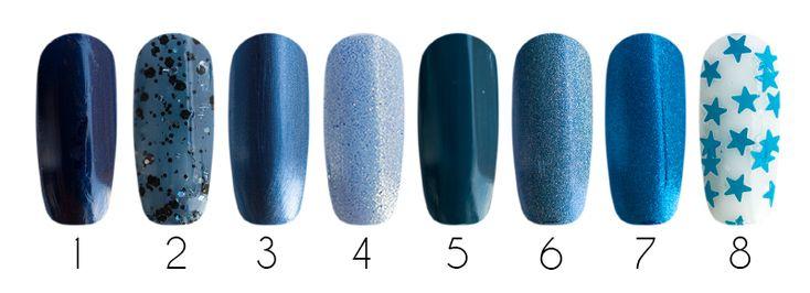 Лаки для ногтей: 1- Milv, лак для ногтей (#27), 16 мл 2- Milv, лак для ногтей (#47), 16 мл 3- El Corazon, лак Kaleidoscope (зеркальный лак f-02), 15 мл 4- EL Corazon Kaleidoscope Термолак, цвет 06, 15 мл. 5- El Corazon, лак для ногтей Kaleidoscope (IL-13), 15 мл 6- EL Corazon Active Bio-gel - лечебный био-гель (423/37), 16 мл 7- EL Corazon Active Bio-gel - лечебный био-гель (423/576), 16 мл 8- EL Corazon, декоративный топ Kaleidoscope (Метеоритный дождь Z-28), 15 мл 9- El Corazon, лак для…
