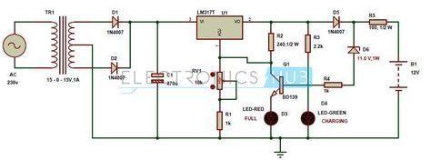 B D F C B A Bf Aae F on Emergency Use Mobile Battery Led Light Circuit Diagram