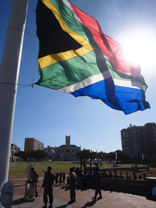 The largest flag in Africa