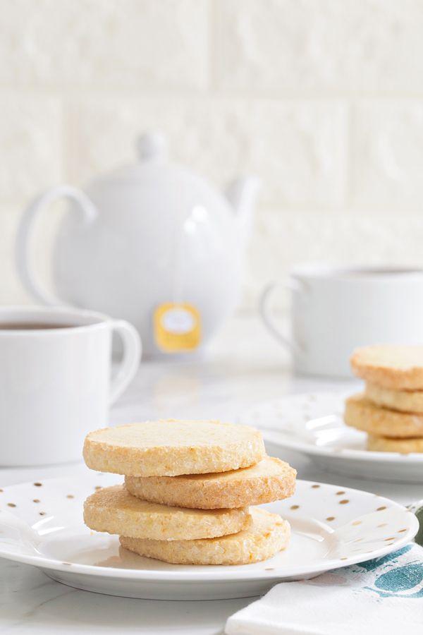 Orange Shortbread Cookies
