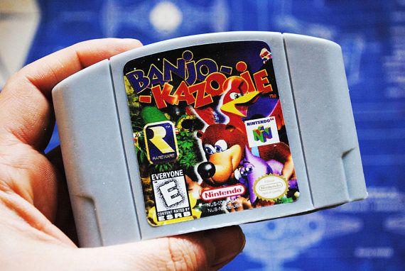 N64 Cart Soap: Retro and geeky Handmade cartridge soap