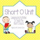 This is a collection of eight different activities to teach the short o sound.  They are based on the Language Arts Common Core Standards for Kinde...