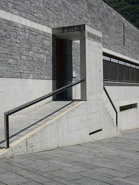 Raffaele Cavadini, town hall in Iragna