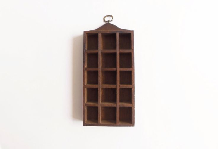 Divided wooden display case by MoineauShop on Etsy https://www.etsy.com/listing/234757362/divided-wooden-display-case