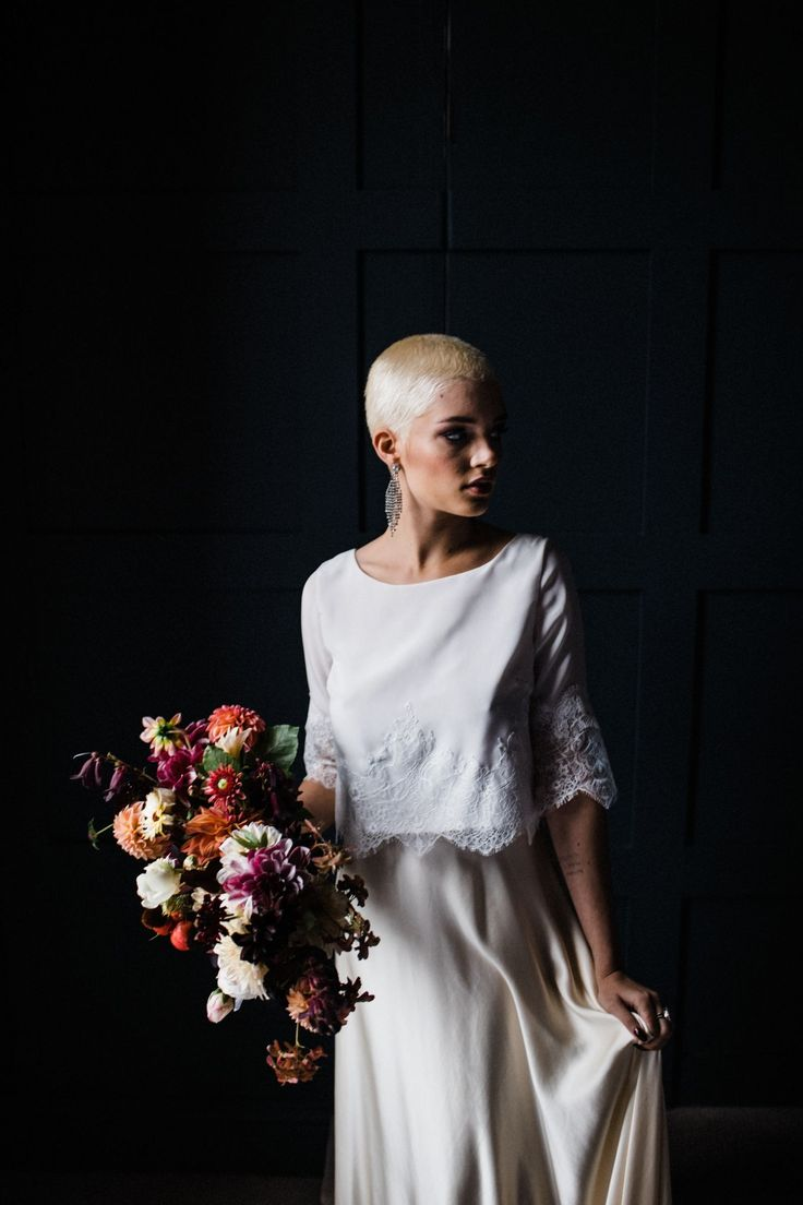 Grace skirt and Sofia top by Sienna Von Hildemar. Flowers by @bride_and_bloom Image by @throughthewoodsweran