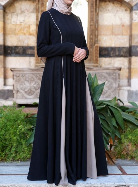 Modest yet contemporary; casual yet classy; sporty yet polished: that's what you'll find in our very own Surayya Abaya. It's flawlessly cut for a loose fit and flexibility of movement, and with its fashionable godets and brilliantly incorporated colors, it adds just a little bit of awesomeness to your style. What is Tencel®? Tencel is the trademarked name for Lyocell, the trendsetting, eco-friendly fiber that feels like a dream. Not only is it a sustainable textile and biodegradable, it is…