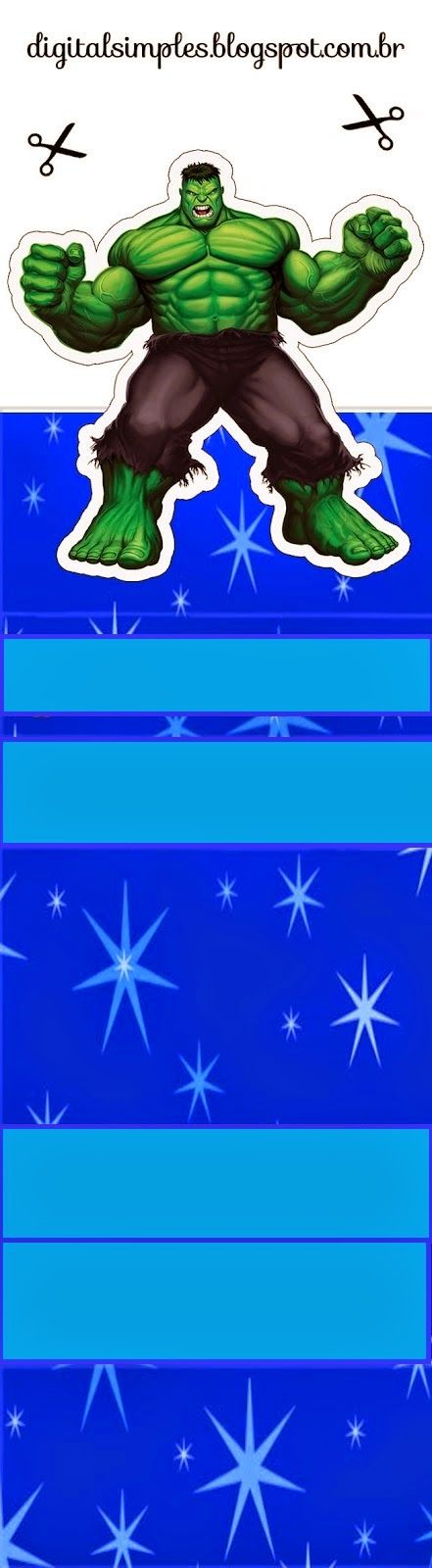 Los Vengadores: Envoltorios Gratis para Paquetes de Chicles o Golosinas.