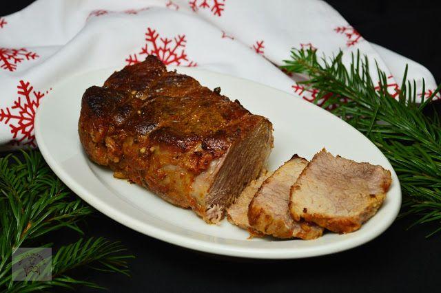 Pulpa de porc la tava - CAIETUL CU RETETE