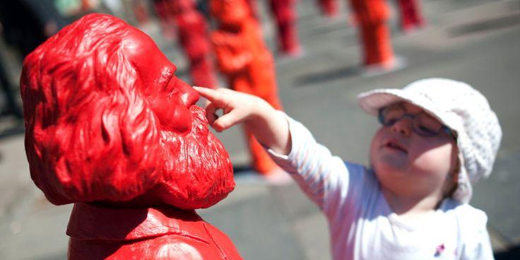 Konkurrenz, Profit und die allgemeinen Produktionsbedingungen des Kapitals: Karl Marx erklärt im taz-Interview die Netzneutralität.