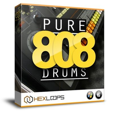 Pure 808 Drum Samples is a unique and authentic sample pack that includes REAL TR-808 drum machine samples recorded from Roland's TR-808 Drum Machine.