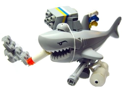 Sharks With Lasers On Their Heads lego laser shark – Bite.ca