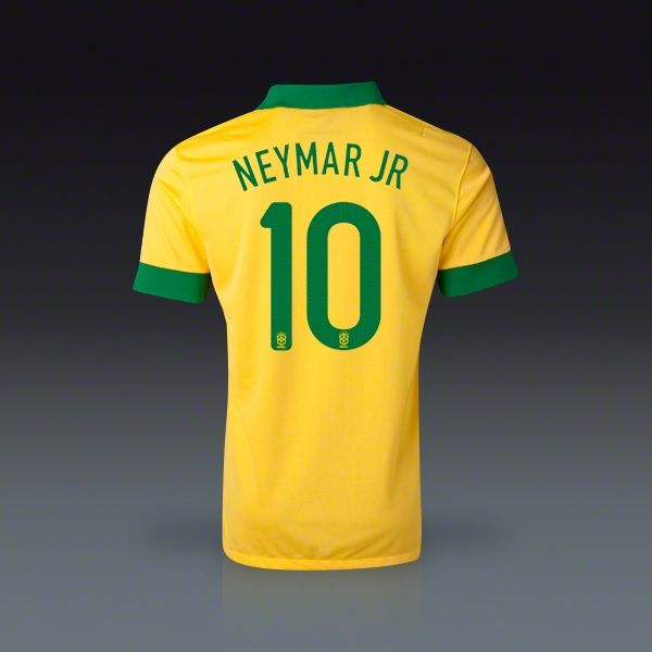 Nike Neymar Brasil Home Jersey 2013
