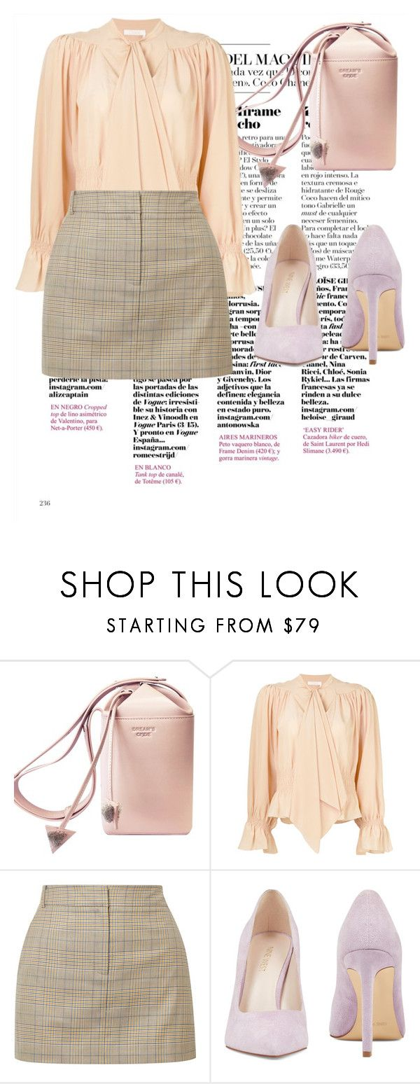 """""""contest"""" by komoda23456 ❤ liked on Polyvore featuring Chloé, TIBI and Nine West"""