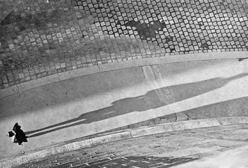 Man with Shadow I, 1930.  by Imre Kinszki