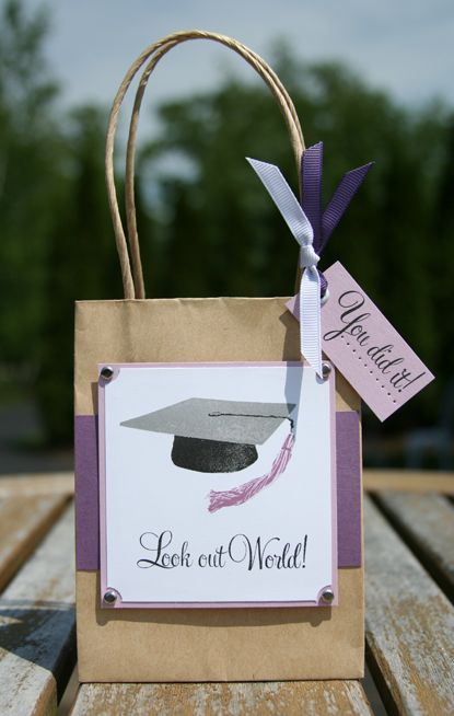 Graduation gifts gift bags and on pinterest
