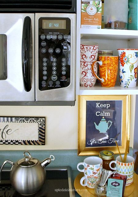 7 best images about it 39 s coffee and tea time on pinterest for How to set up a coffee station