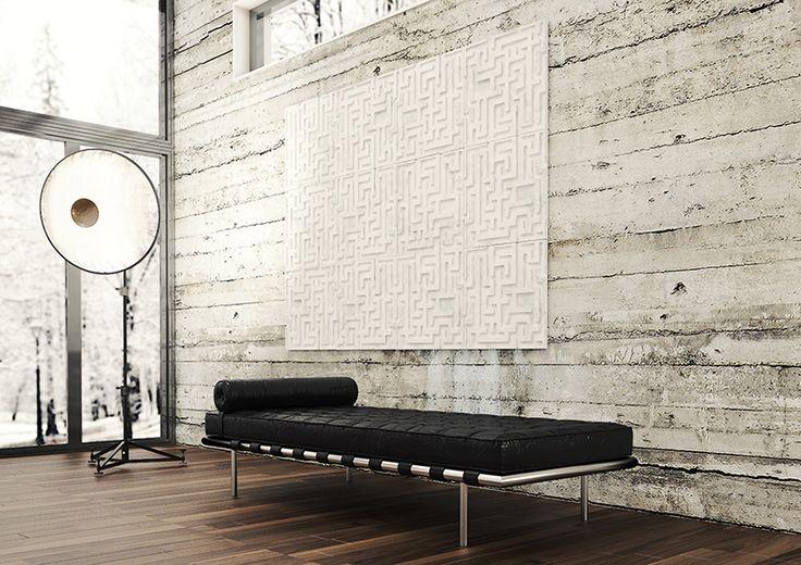 Labor-Intus_Rivestimento parete_Bianco di Carrara_Giuseppe D'Amico