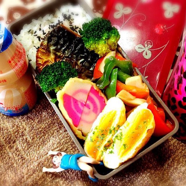 ★塩サバ焼き ★あわび茸とパプリカの塩ダレ炒め ★2色なると天ぷら ★半月焼き - 59件のもぐもぐ - 塩サバ焼き&2色なると天ぷらお弁当♪ by 桃実