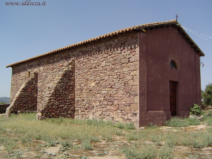 The country church of St. Theodore, of Byzantine origins (about 1300 A.D.).