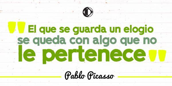Pablo y Picasso son solo 2 de las 23 palabras que conformaban el nombre completo del artista. #CreativoDixit
