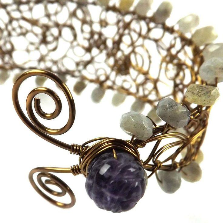 Designer Inspiration with Janet 16/02/2014 Vintage Goddess Wire XYGC63 / MKGC50 http://www.jewellerymaker.com/