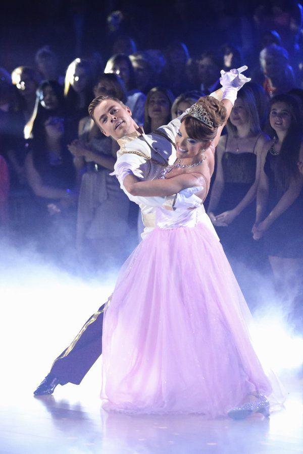 Derek Hough & Amy Purdy dance to Cinderella  -  Dancing With the Stars  -  week 5  -  season 18  -  spring 2014