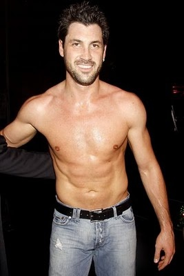 Maksim Chmerkovski INCREDIBLE dancer, not hard on the eyes either ;)
