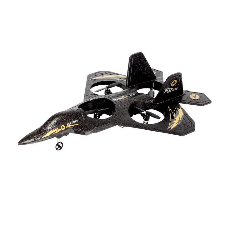 400150 - Drone avion 50 cm - Radiocommandé - Chargeur USB - Personnaliser la télécommande - Pièces de rechange #elictopter