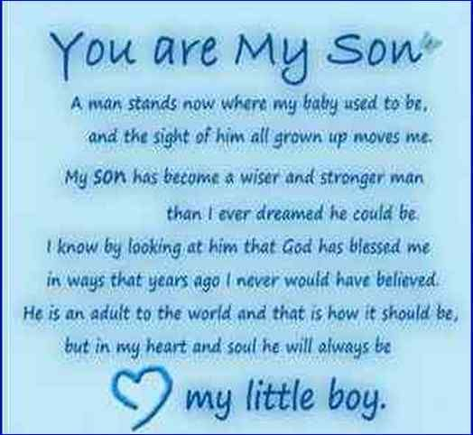 Happy Birthday Mom Quotes From Son In Hindi: 17 Best Images About My Son On Pinterest
