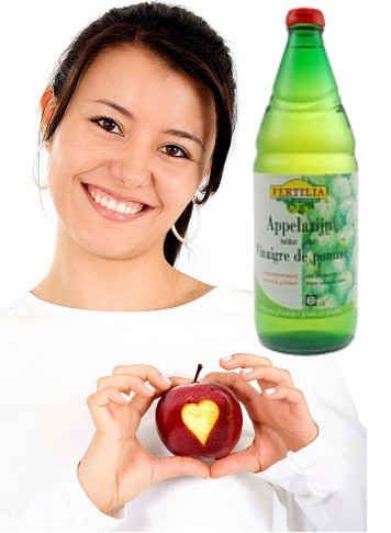 APPELCIDER AZIJN - Helpt eczeem te stabiliseren. 1 eetlepel op 1 liter spuitwater, fris fruitig lekker