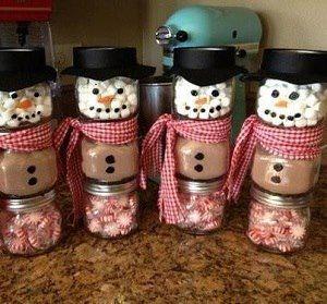 Easy diy christmas gifts,love snowmans,love the idea!