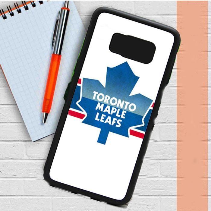 Toronto Maple Leafs White Samsung Galaxy S8 Case Dewantary