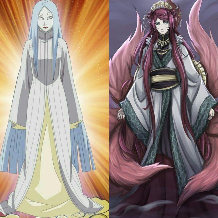 Kaguya Ootsutsuki vs Mito Uzumaki   Vs   Naruto ...