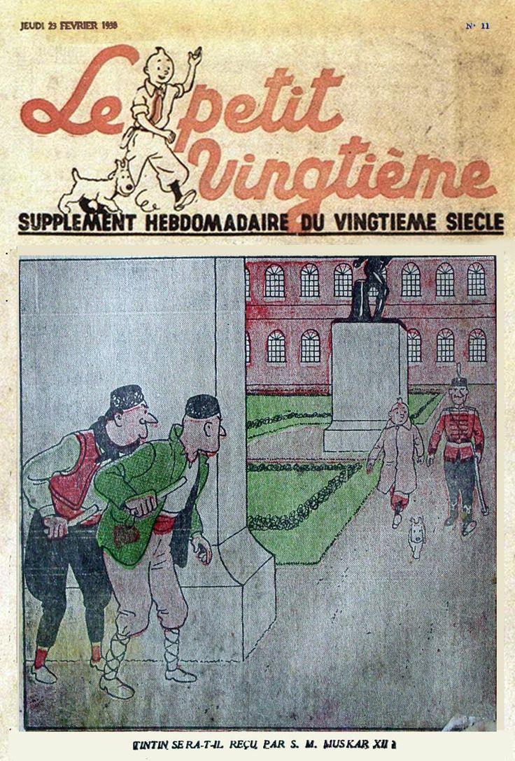 Tintin sera-t-il reçu par S. M. Muskar XII ? - Le sceptre d'Ottokar
