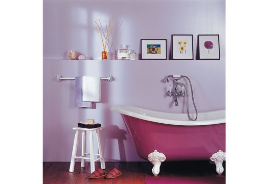 les 25 meilleures id es de la cat gorie salle de bain mauve sur pinterest salles taupe. Black Bedroom Furniture Sets. Home Design Ideas