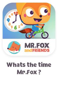 Whats the time, Mr.Fox  (iPad Game for Preschoolers)