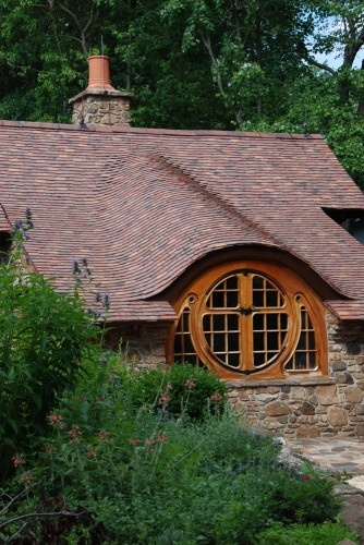 Hobbit House: Actually too tiny to live in full time, but I want one anyway.