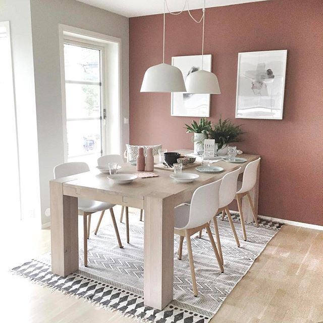31 Bellos Colores Para Pintar Tu Comedor Interior De Comedor Colores Para Sala Comedor Diseno De Sala Comedor