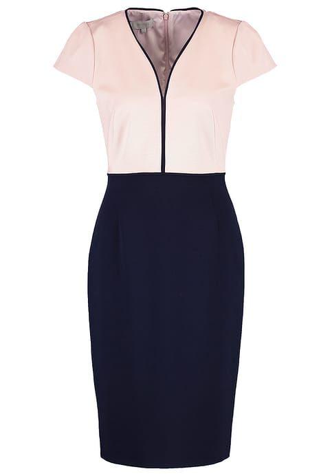 Hobbs HARPER - Sukienka etui - blossom pink/navy za 949 zł (08.06.17) zamów bezpłatnie na Zalando.pl.